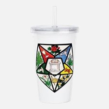 Eastern Star Acrylic Double-wall Tumbler