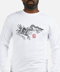 Asian Dragon Art Long Sleeve T-Shirt