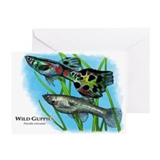 Wild Guppies Greeting Card