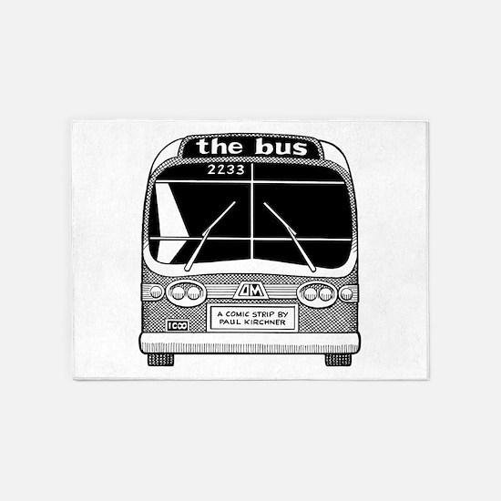 """the bus"" 5'x7'Area Rug"