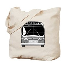 """""""the bus"""" Tote Bag"""
