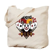 Joker's Wild Tote Bag