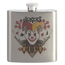 Joker's Wild Flask