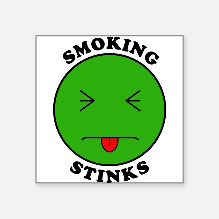 Smoking Stinks Sticker