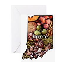 Indiana Home Greeting Card