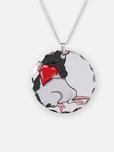 ratheartblkhd.png Necklace