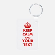 Personalized Keep Calm and Keychains