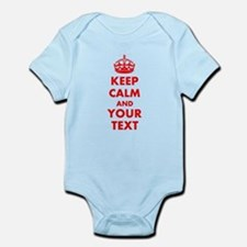 Personalized Keep Calm and carry o Onesie