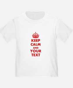 Personalized Keep Calm and carry o T