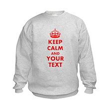 Personalized Keep Calm and carry o Sweatshirt
