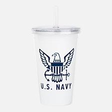 U.S. Navy Acrylic Double-wall Tumbler