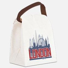 London Canvas Lunch Bag