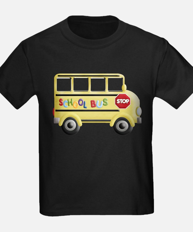 cute yellow school bus T-Shirt
