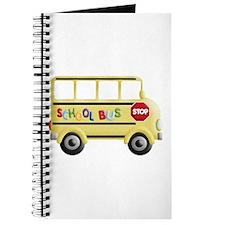 Cute School bus Journal