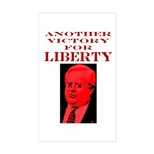 Another Victory for Liberty Rectangle Decal