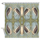 Nouveau stork Shower Curtains