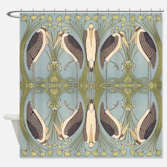 Storkish Shower Curtain