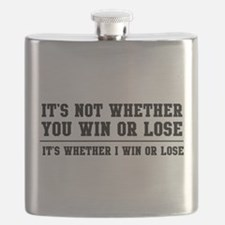 Whether win or lose Flask