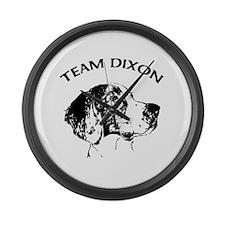 Team Dixon Large Wall Clock