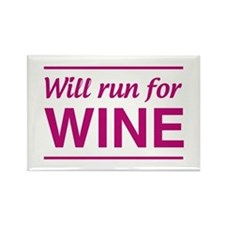 Will run for wine Magnets