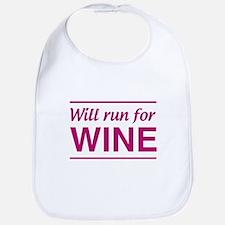 Will run for wine Bib