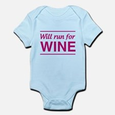 Will run for wine Body Suit