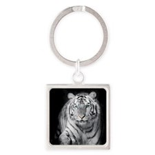 White Tiger Keychains