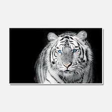 White Tiger Car Magnet 20 x 12