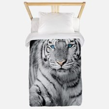 White Tiger Twin Duvet