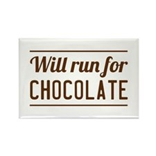 Will run for chocolate Magnets