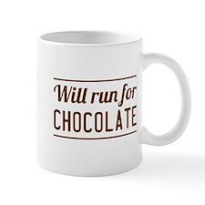 Will run for chocolate Mugs