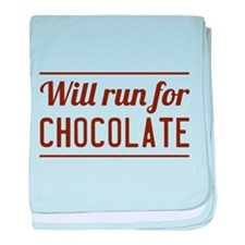 Will run for chocolate baby blanket