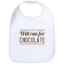 Will run for chocolate Bib