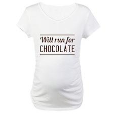 Will run for chocolate Shirt