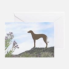 Desert Flower Sloughi Greeting Cards (Pk of 10