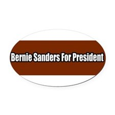 Unique Progressive Oval Car Magnet