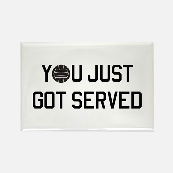 You got served vollyball Magnets