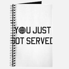 You got served vollyball Journal