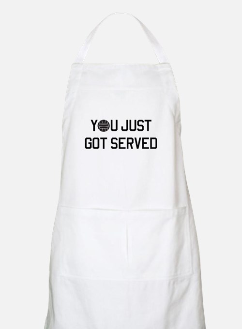 You got served vollyball Apron