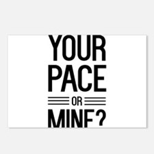 Your pace or mine? Postcards (Package of 8)