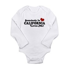 Cute Ca Long Sleeve Infant Bodysuit