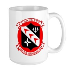 Vf-161 Chargers Large Mugs
