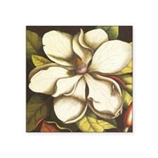 modern vintage fall magnolia flower Sticker