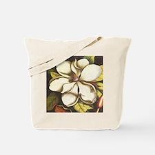 modern vintage fall magnolia flower Tote Bag
