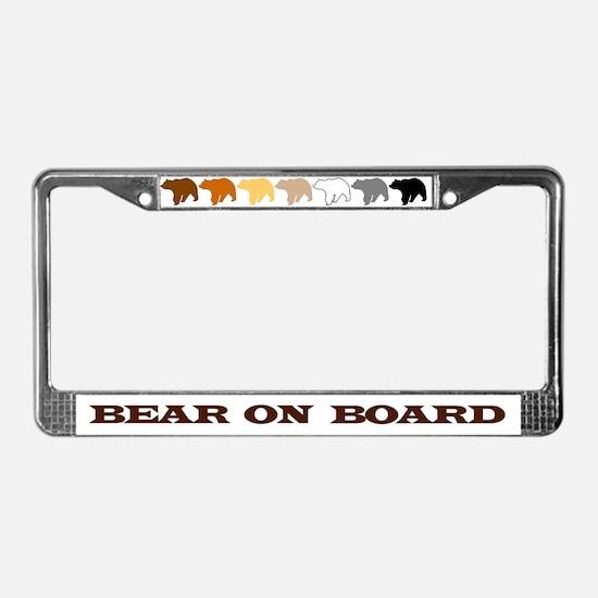 Cute Bears License Plate Frame