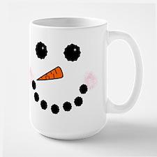 Snowman Face Mugs