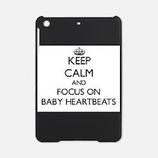 Keep calm heartbeat iPad Mini Case