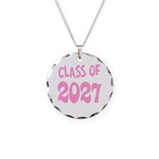 Class of 2027 (pink) Necklace