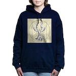 Vetruvian Crawfish1 Women's Hooded Sweatshirt