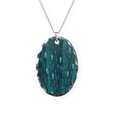 Shining Peacock Feathers Necklace